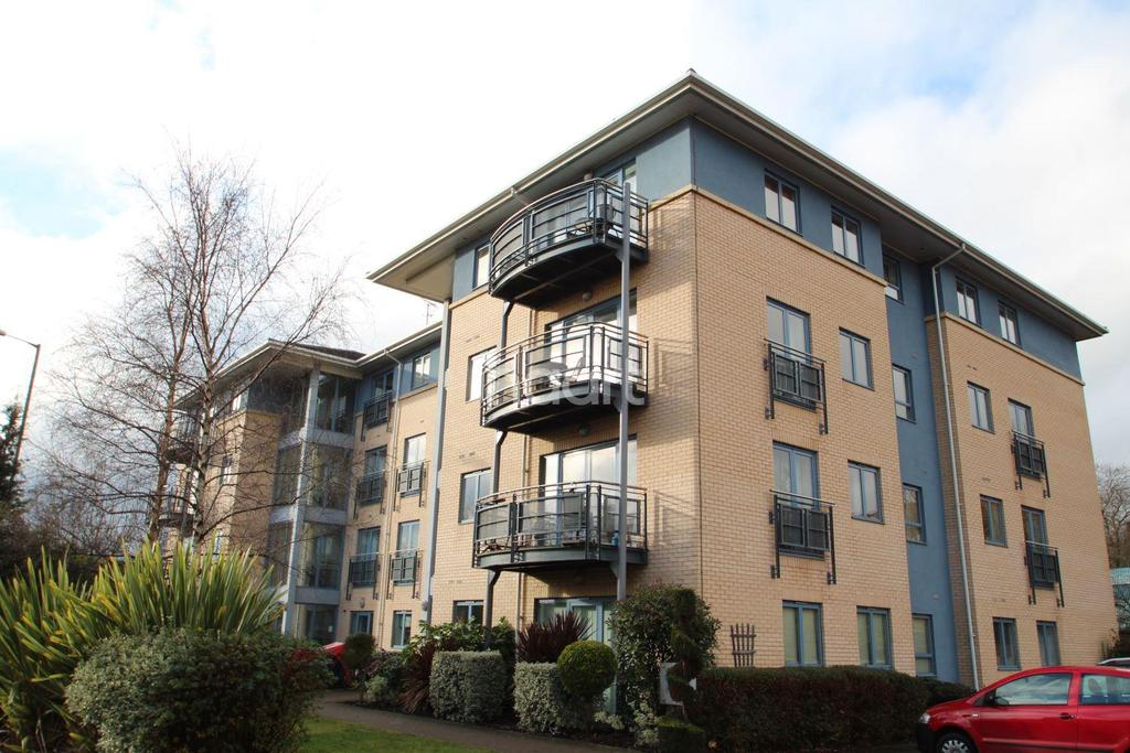 2 Bedrooms Flat for sale in Marine House, Castle Quay Close, Nottingham