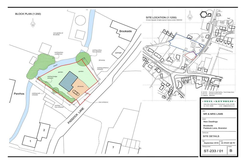 Land Commercial for sale in Paddock Lane, Branston, Lincoln, LN4