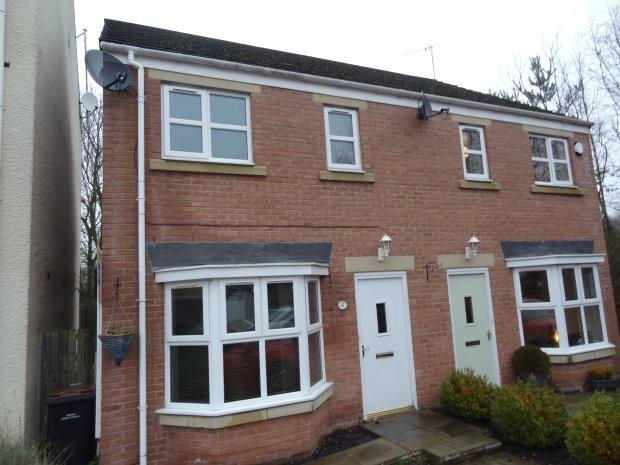3 Bedrooms Semi Detached House for sale in CUNNINGHAM COURT, SEDGEFIELD, SEDGEFIELD DISTRICT