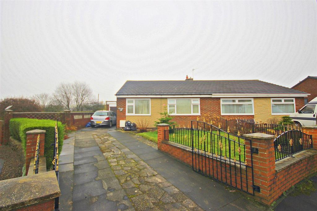 2 Bedrooms Semi Detached Bungalow for sale in Hexham Drive, Annfield Plain, Stanley
