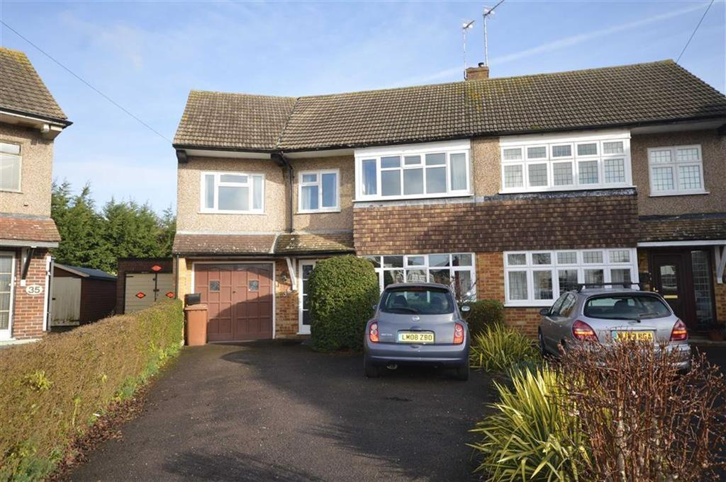 5 Bedrooms Semi Detached House for sale in Grove Road, Ware, Hertfordshire, SG12