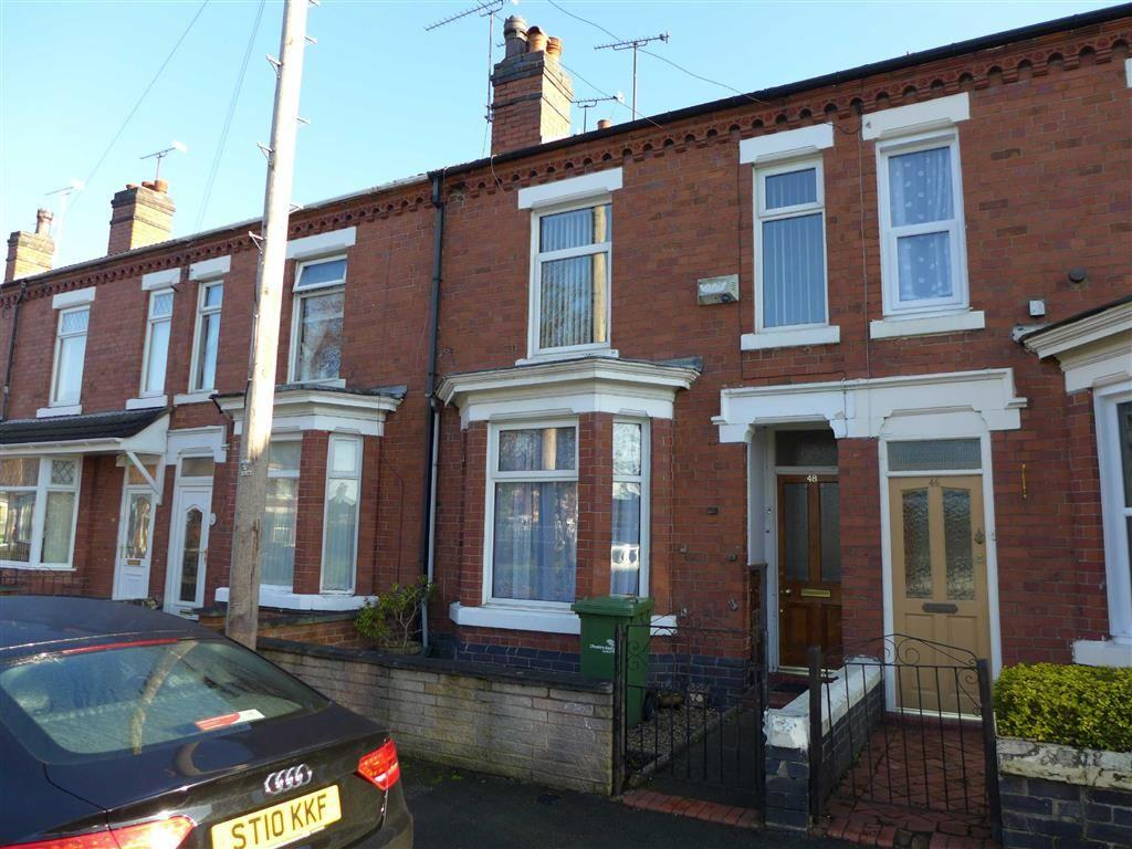 3 Bedrooms Terraced House for sale in Nelson Street, Crewe