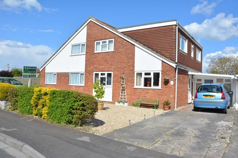 4 Bedrooms Semi Detached House for sale in Highburn Close, Burnham-On-Sea