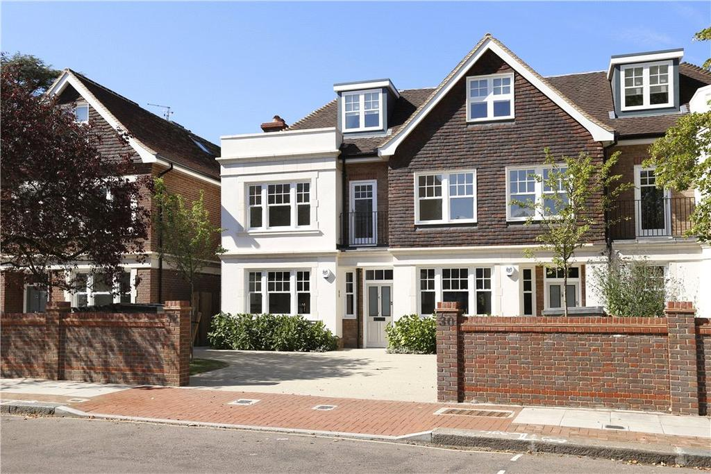4 Bedrooms Semi Detached House for sale in Dover Park Drive, London, SW15
