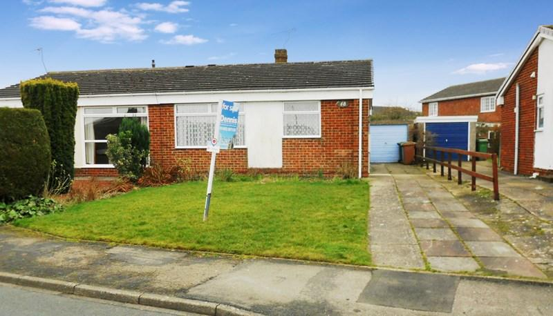 2 Bedrooms Semi Detached Bungalow for sale in Inmans Road, Hedon, Hull