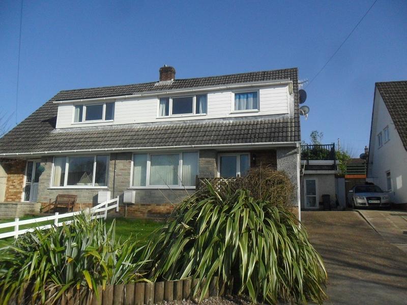 4 Bedrooms Semi Detached House for sale in Lon Catwg , Gellinudd, Pontardawe, Swansea.