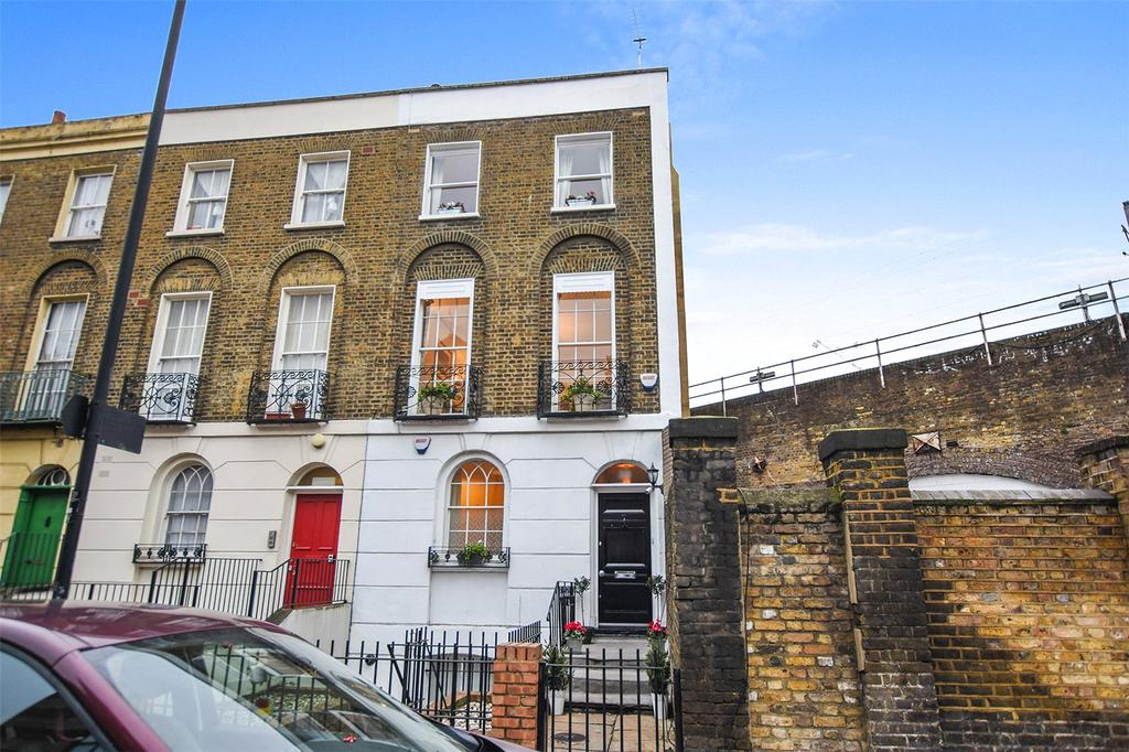 4 Bedrooms End Of Terrace House for sale in Randolph Street, London, NW1