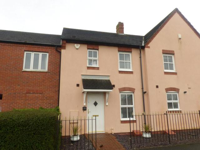 3 Bedrooms Terraced House for sale in Parnell Avenue,Lichfield,Staffs