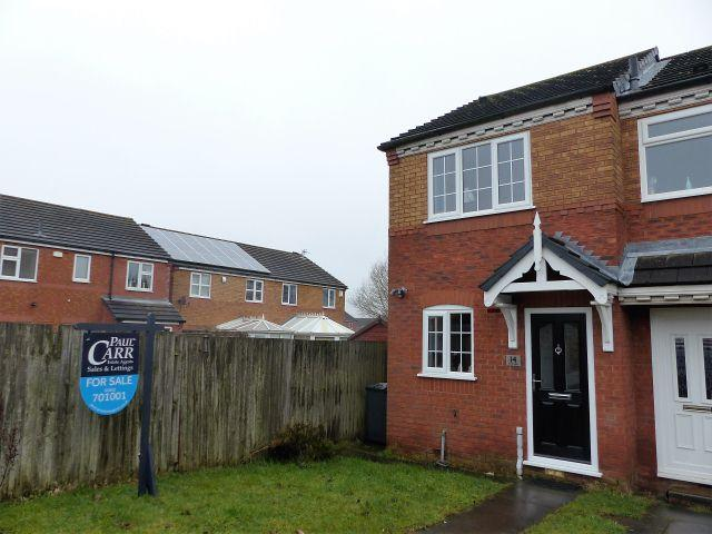2 Bedrooms End Of Terrace House for sale in Valley Green,Cheslyn Hay,Staffordshire