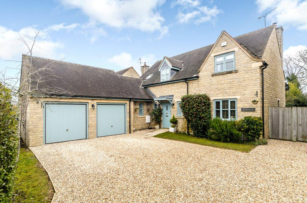 4 Bedrooms Detached House for sale in Bell Lane, Poulton, Cirencester, Gloucestershire, GL7