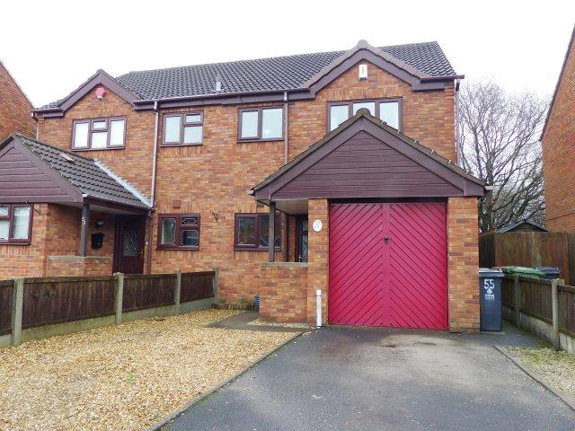 3 Bedrooms Semi Detached House for sale in Lawnoaks Close,Brownhills West,Walsall