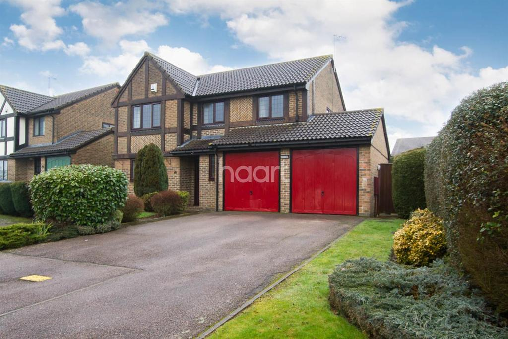 4 Bedrooms Detached House for sale in Dalton Close in Barton Hills