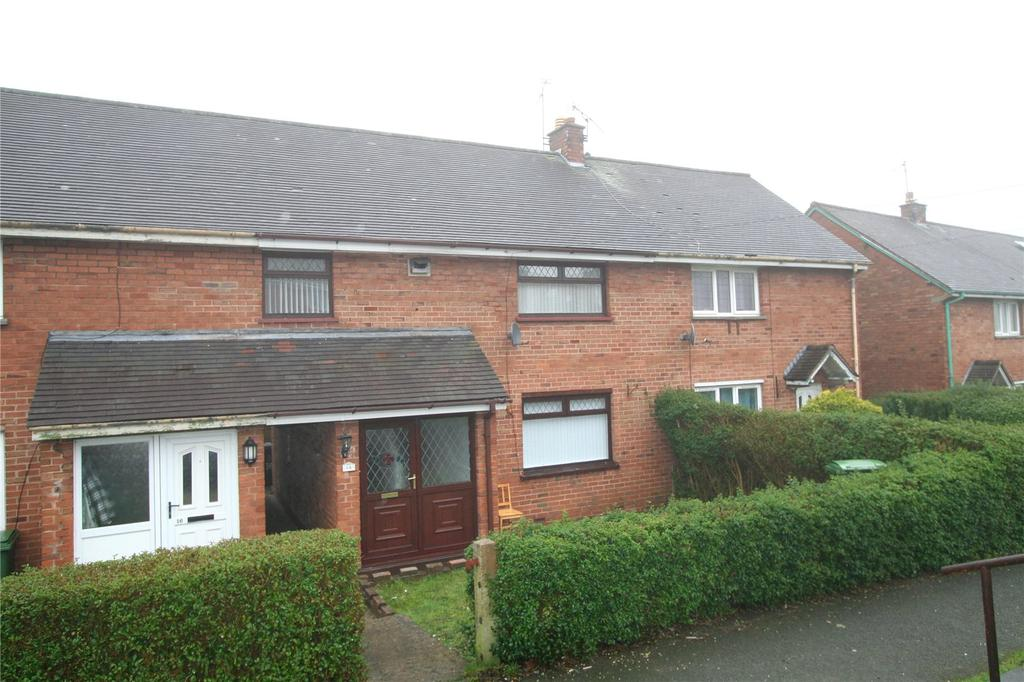 3 Bedrooms Terraced House for sale in Heol Dirion, Coedpoeth, Wrexham, LL11