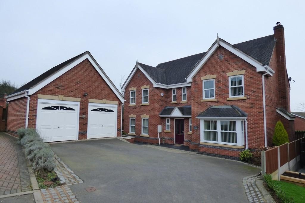 6 Bedrooms Detached House for sale in Vicarage Drive, Stramshall, Uttoxeter, Staffordshire, ST14 5DL