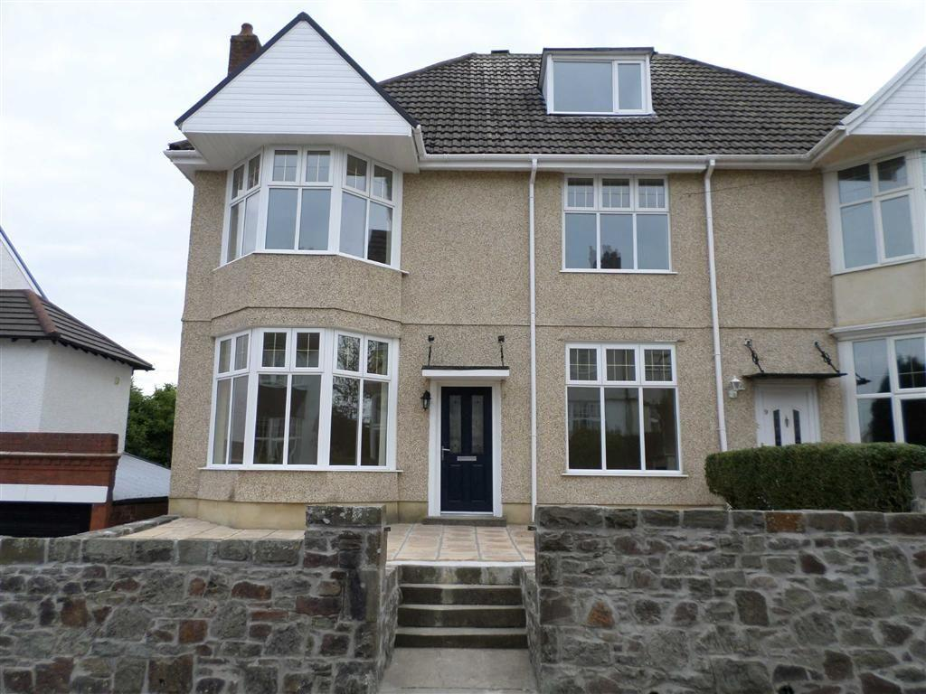 4 Bedrooms Semi Detached House for sale in Grosvenor Road, Swansea, SA2
