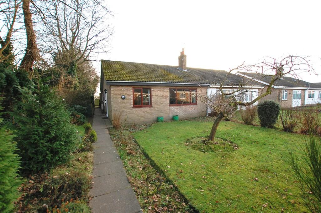2 Bedrooms Semi Detached Bungalow for sale in Jannys Close, Aylsham
