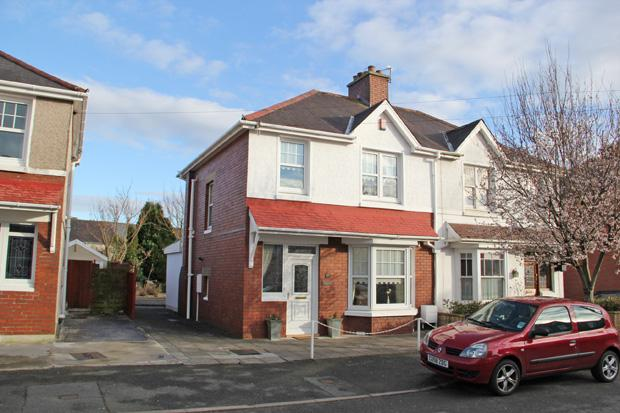 3 Bedrooms Semi Detached House for sale in Myrddin Crescent, Carmarthen, Carmarthenshire