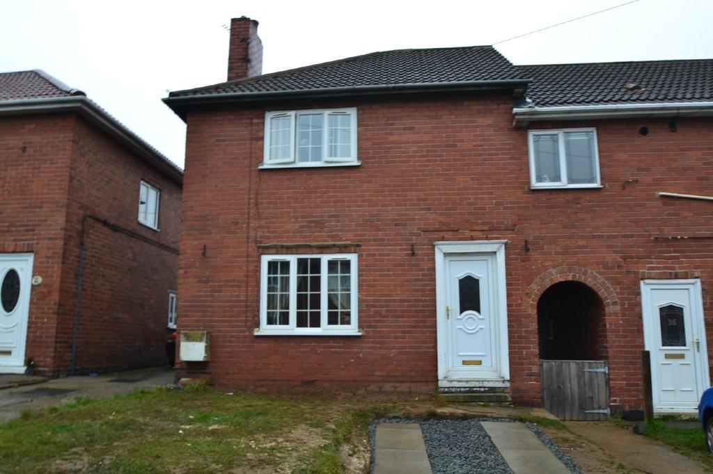 3 Bedrooms End Of Terrace House for sale in School Street, Upton, Pontefract