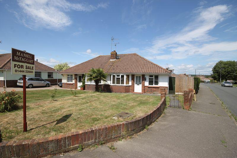 2 Bedrooms Semi Detached Bungalow for sale in St Wilfrids Road, Burgess Hill, West Sussex