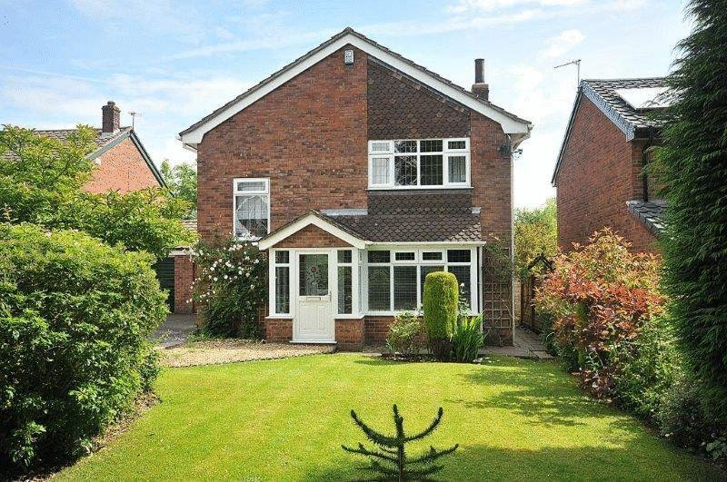 3 Bedrooms Link Detached House for sale in Freshfields, Comberbach