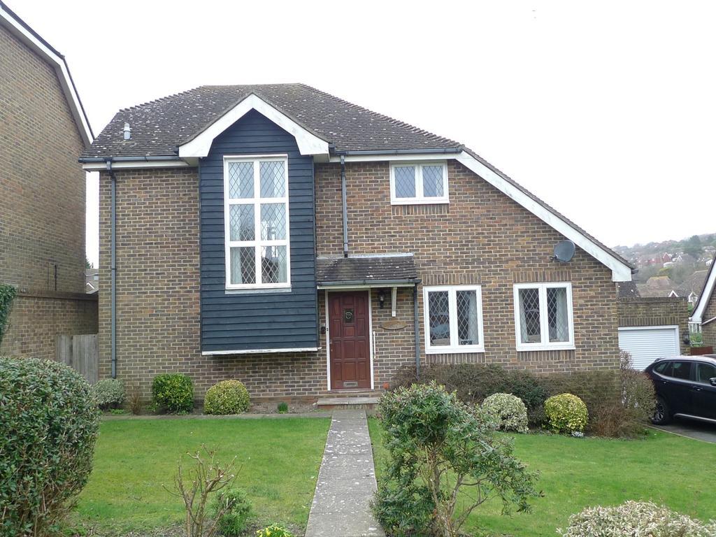 4 Bedrooms Detached House for sale in Sussex Gardens, East Dean, Eastbourne, BN20