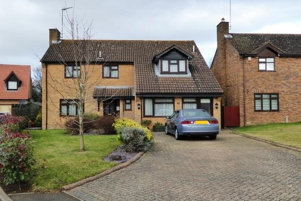4 Bedrooms Detached House for sale in Tansy Close, West Hunsbury, Northampton, NN4