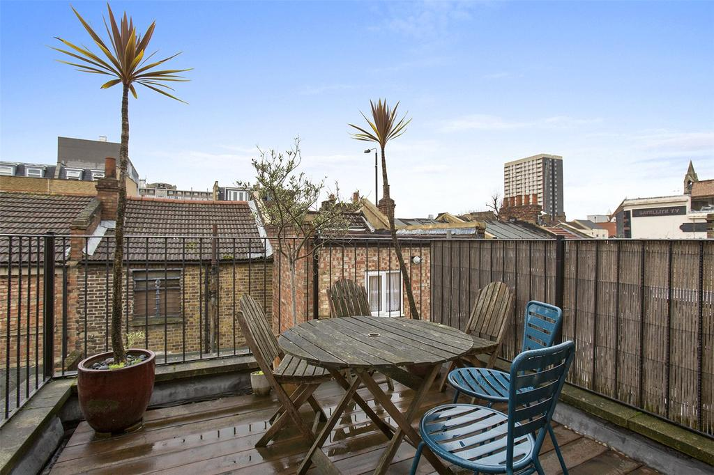 2 Bedrooms Terraced House for sale in Voss Street, London, E2