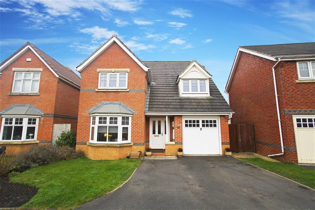 4 Bedrooms Detached House for sale in Carlisle Close, Holystone