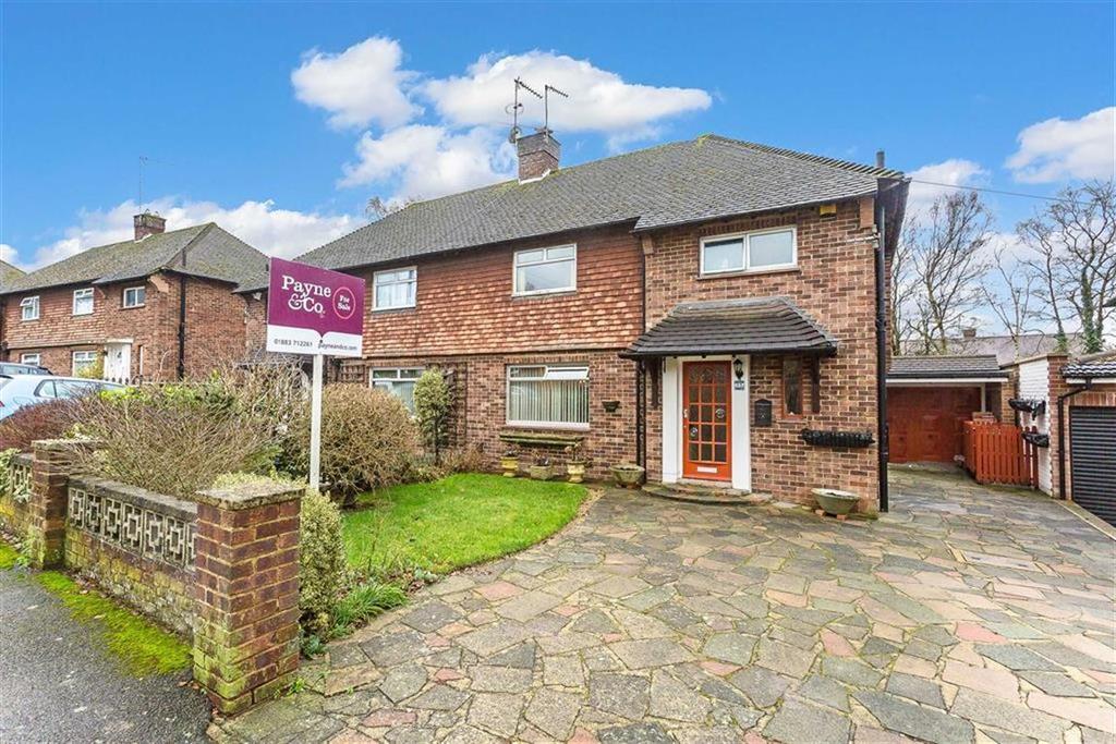 3 Bedrooms Semi Detached House for sale in Hurstlands, Hurst Green, Surrey