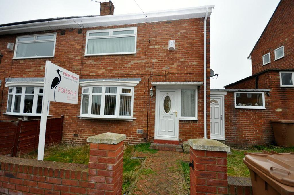 2 Bedrooms Semi Detached House for sale in Thistle Road, Thorney Close, Sunderland