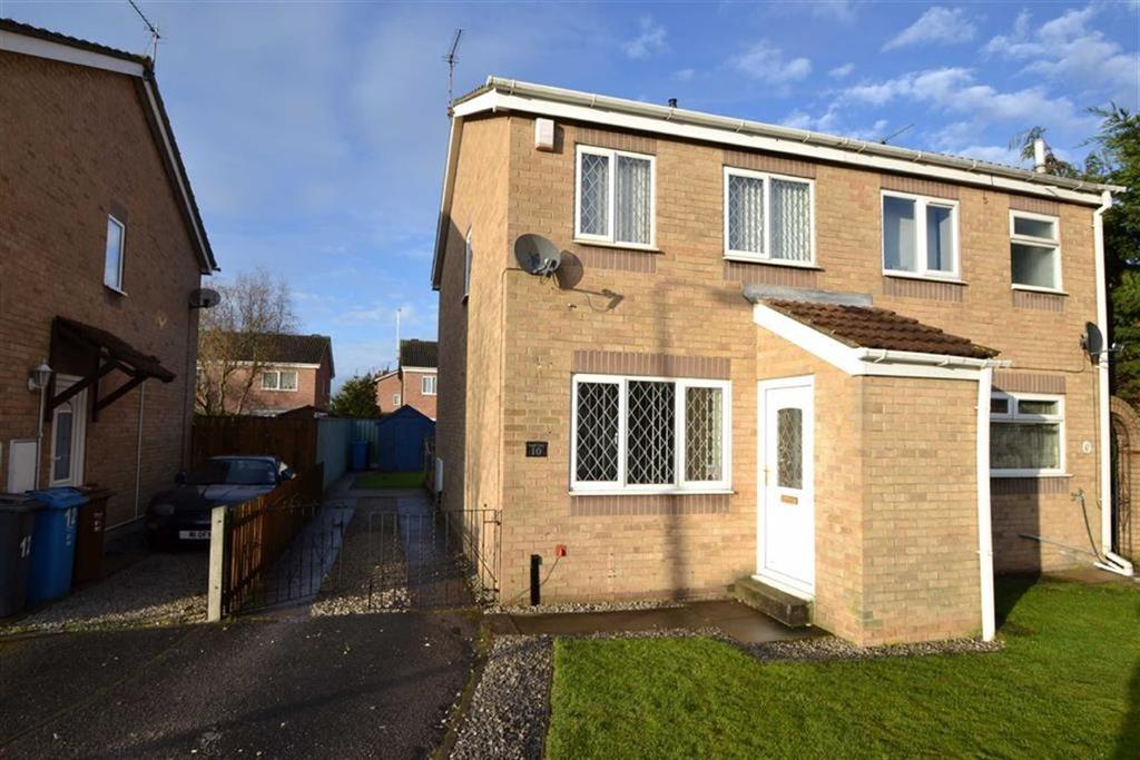 2 Bedrooms Semi Detached House for sale in Brunslow Close, Hull