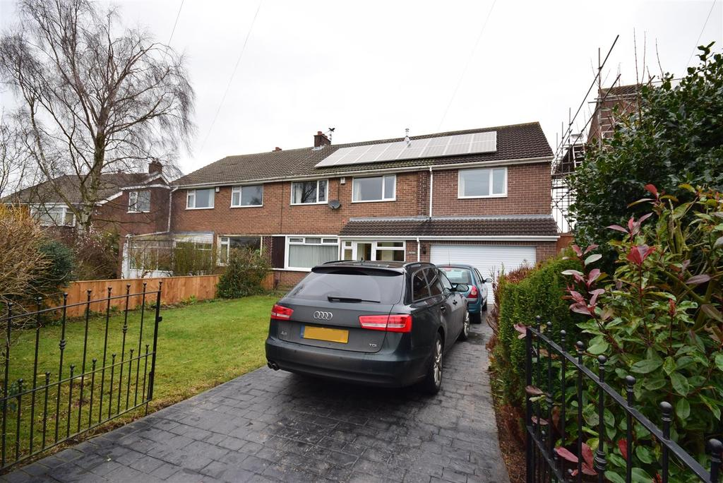4 Bedrooms Semi Detached House for sale in Hillcrest, Sunderland