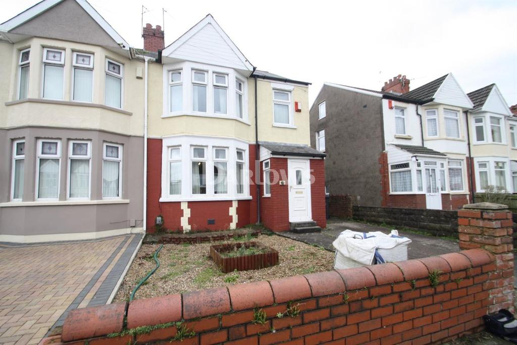 3 Bedrooms Semi Detached House for sale in Wellwright Road, Fairwater , Cardiff