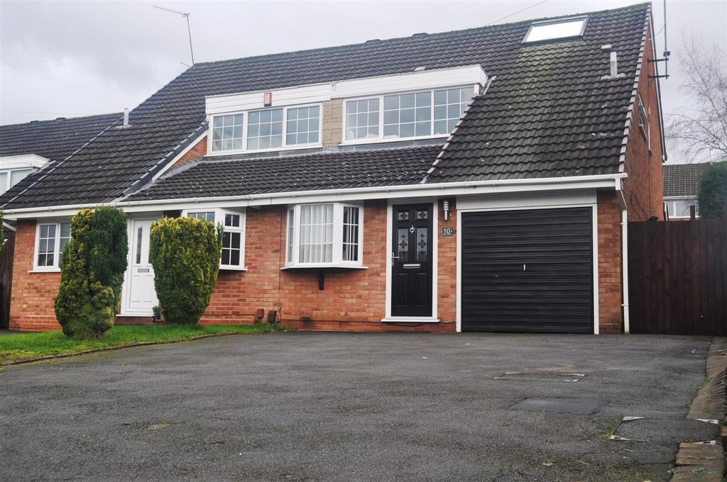 4 Bedrooms Semi Detached House for sale in Stour Close, Halesowen