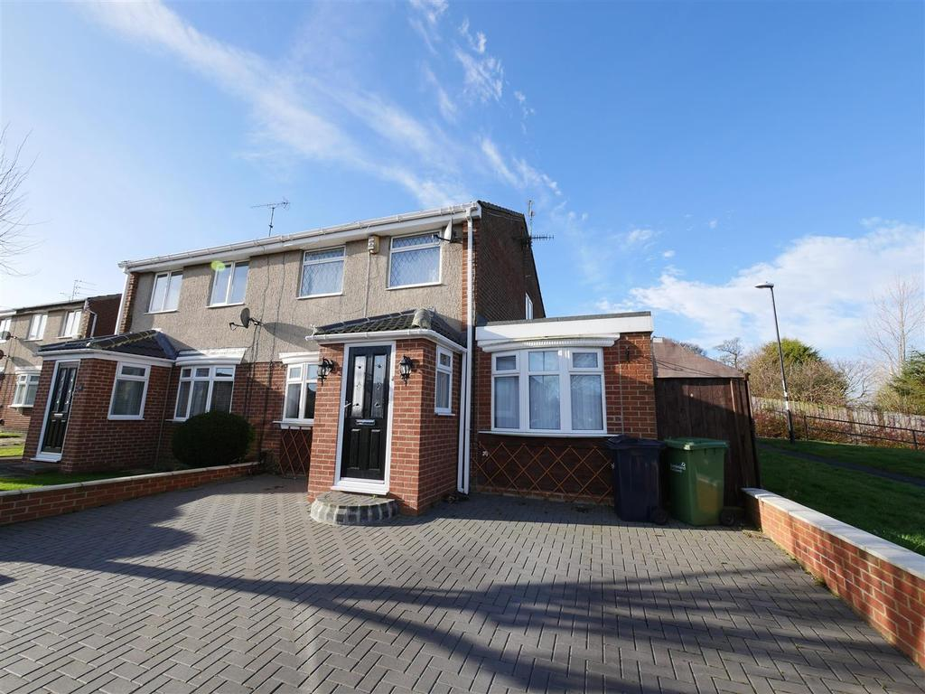 3 Bedrooms Semi Detached House for sale in Deaconsfield Close, Sunderland