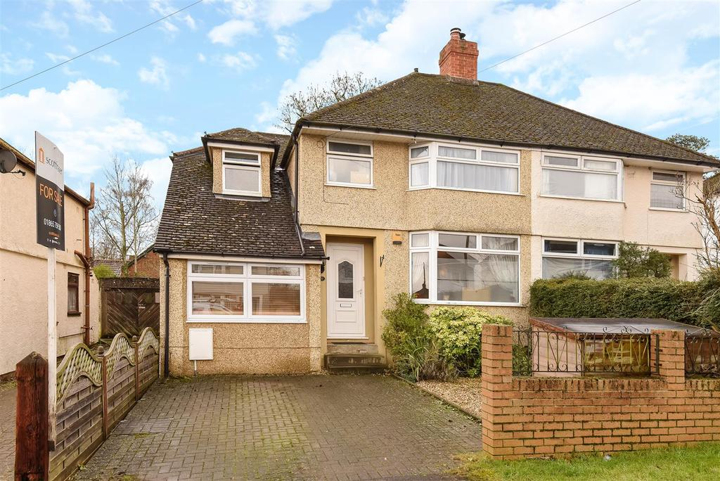 4 Bedrooms Semi Detached House for sale in Netherwoods Road, Headington, Oxford