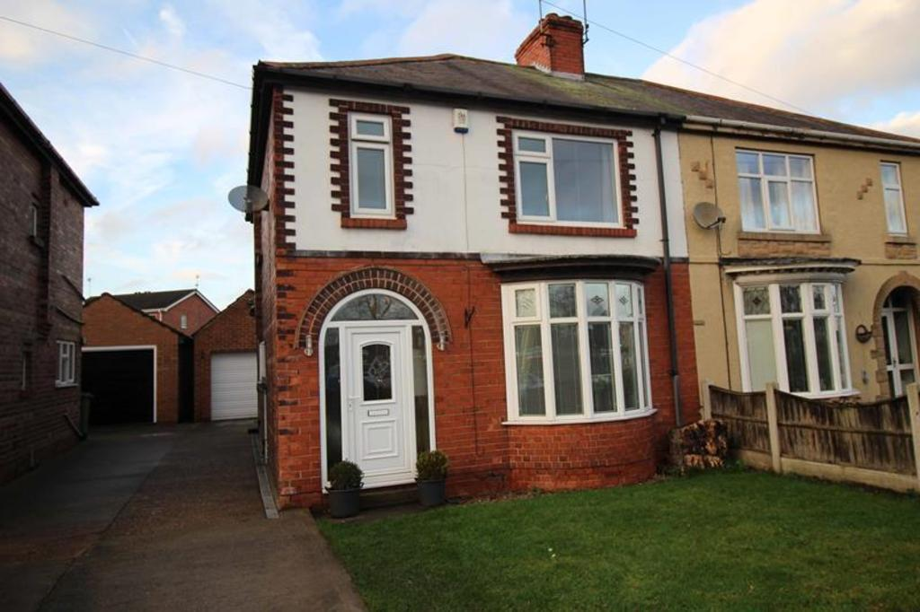 3 Bedrooms Semi Detached House for sale in 4 Mansfield Road, Worksop