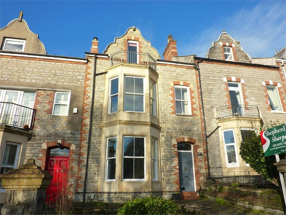 5 Bedrooms Terraced House for sale in Kymin Terrace, Penarth