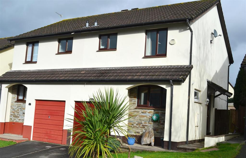 3 Bedrooms Semi Detached House for sale in Woodland Close, Barnstaple