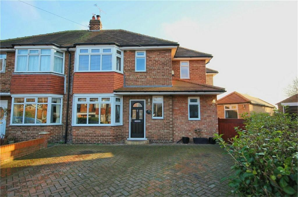 4 Bedrooms Semi Detached House for sale in Parkside Close, Cottingham, East Riding of Yorkshire