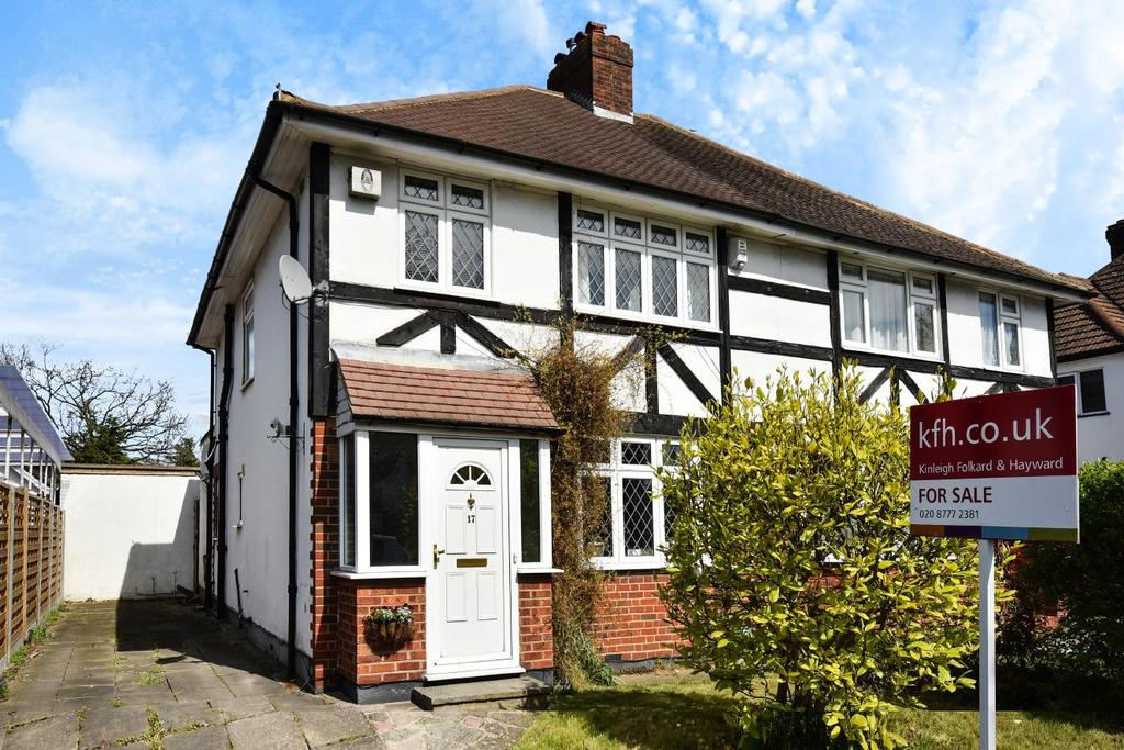 3 Bedrooms Semi Detached House for sale in Croydon Road, West Wickham, BR4