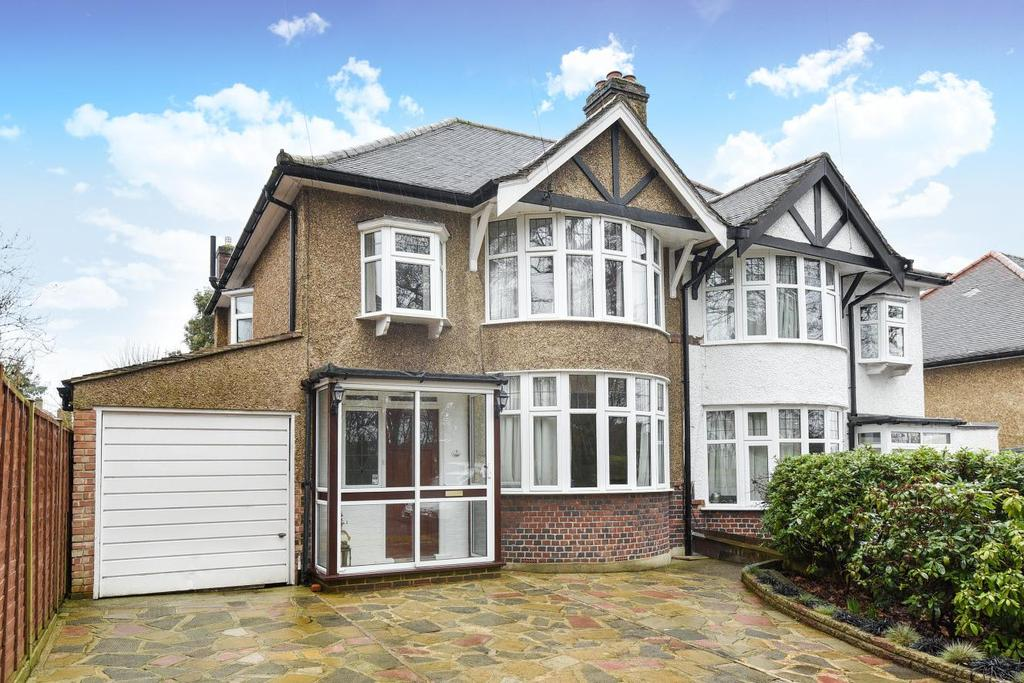 3 Bedrooms Semi Detached House for sale in Temple Avenue, Croydon, CR0