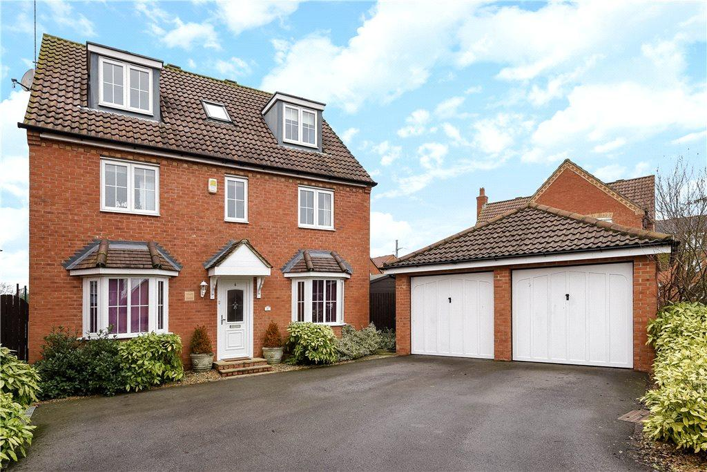 5 Bedrooms Detached House for sale in Spriggs Close, Clapham, Bedford, Bedfordshire