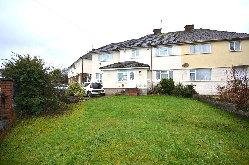 4 Bedrooms Semi Detached House for sale in Llanstephan Road, Rumney, Cardiff, Cardiff. CF3