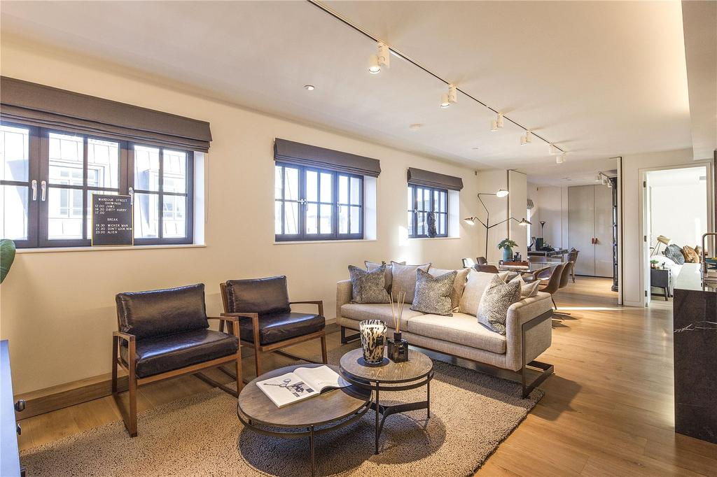 2 Bedrooms Apartment Flat for sale in Pathe Building, Soho, W1F