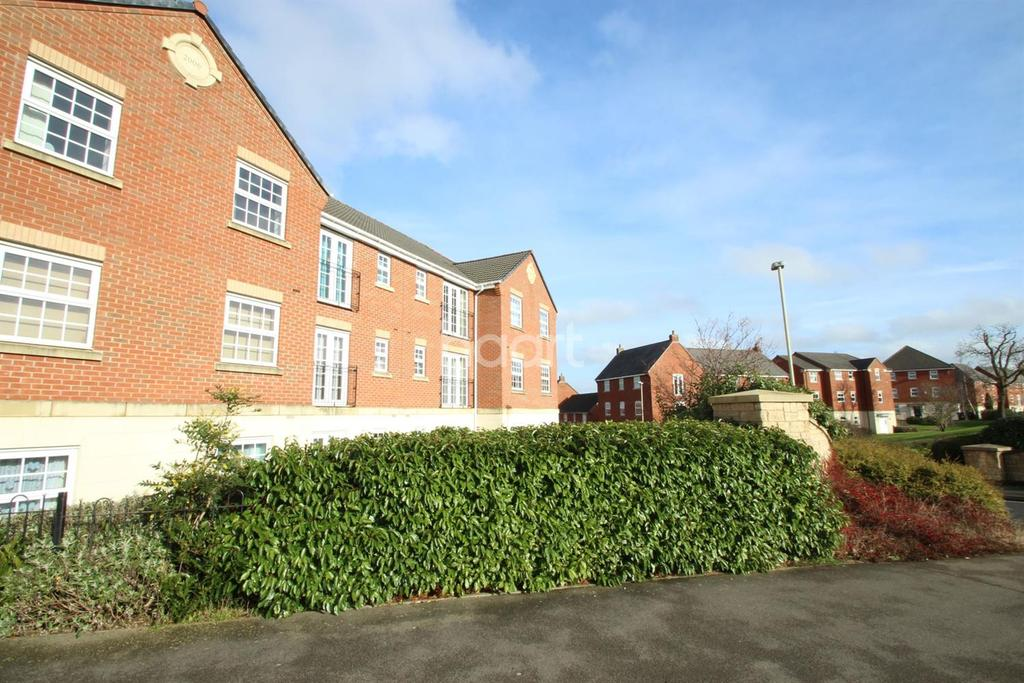 2 Bedrooms Flat for sale in Birkby Close, Hamilton, Leicester