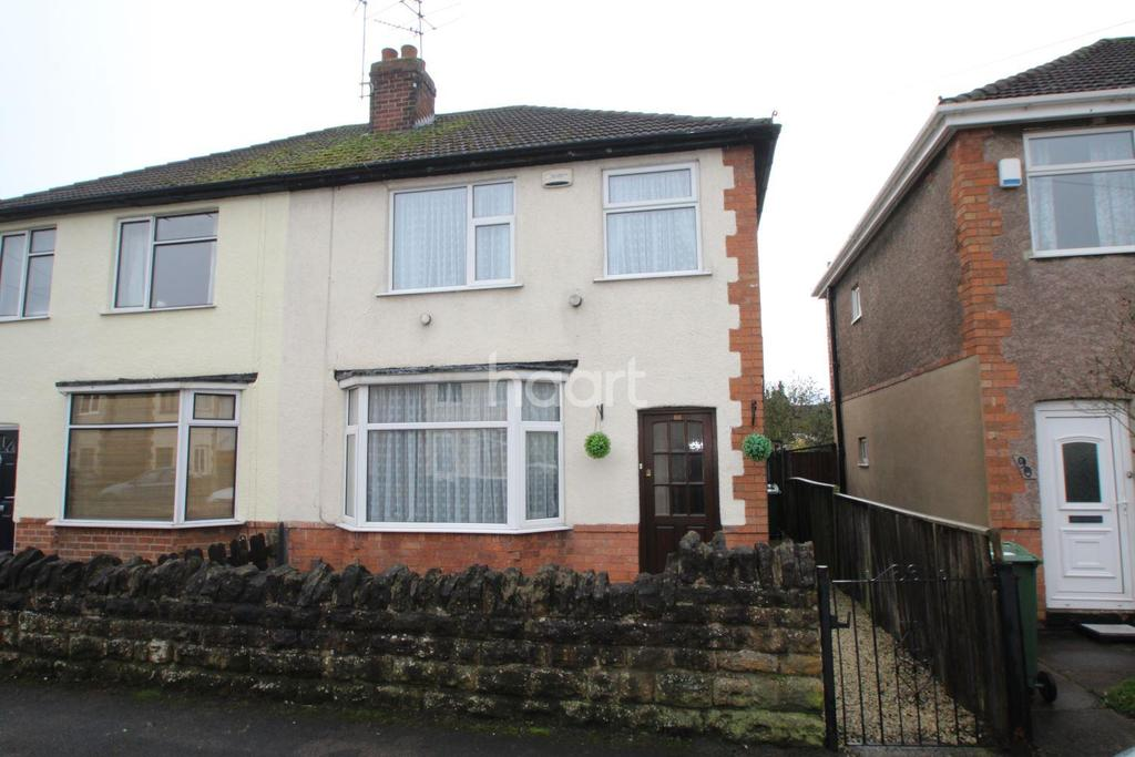 3 Bedrooms Semi Detached House for sale in Kings Avenue, Loughborough