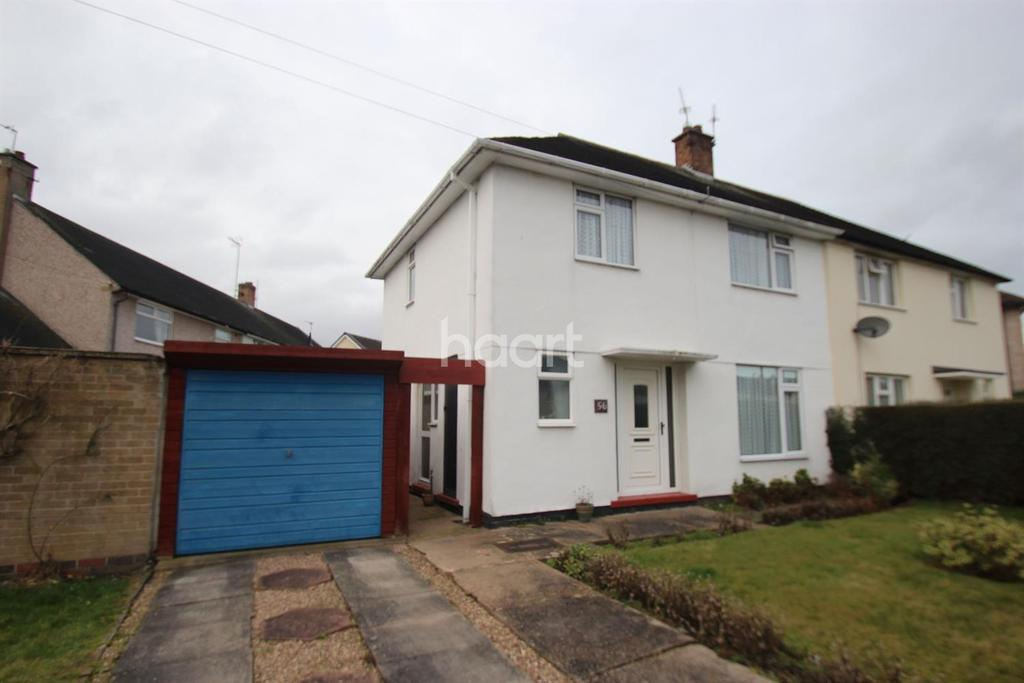 3 Bedrooms Semi Detached House for sale in Meadowvale Crescent, Clifton, Nottinghamshire