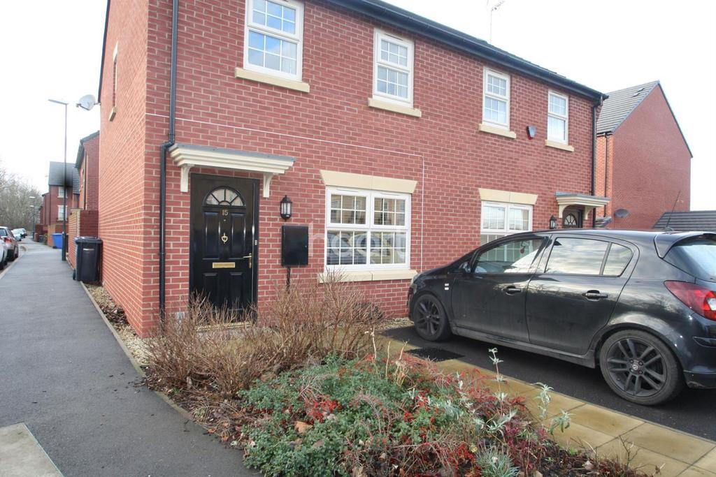 2 Bedrooms Semi Detached House for sale in Bramblehedge Drive, Sinfin
