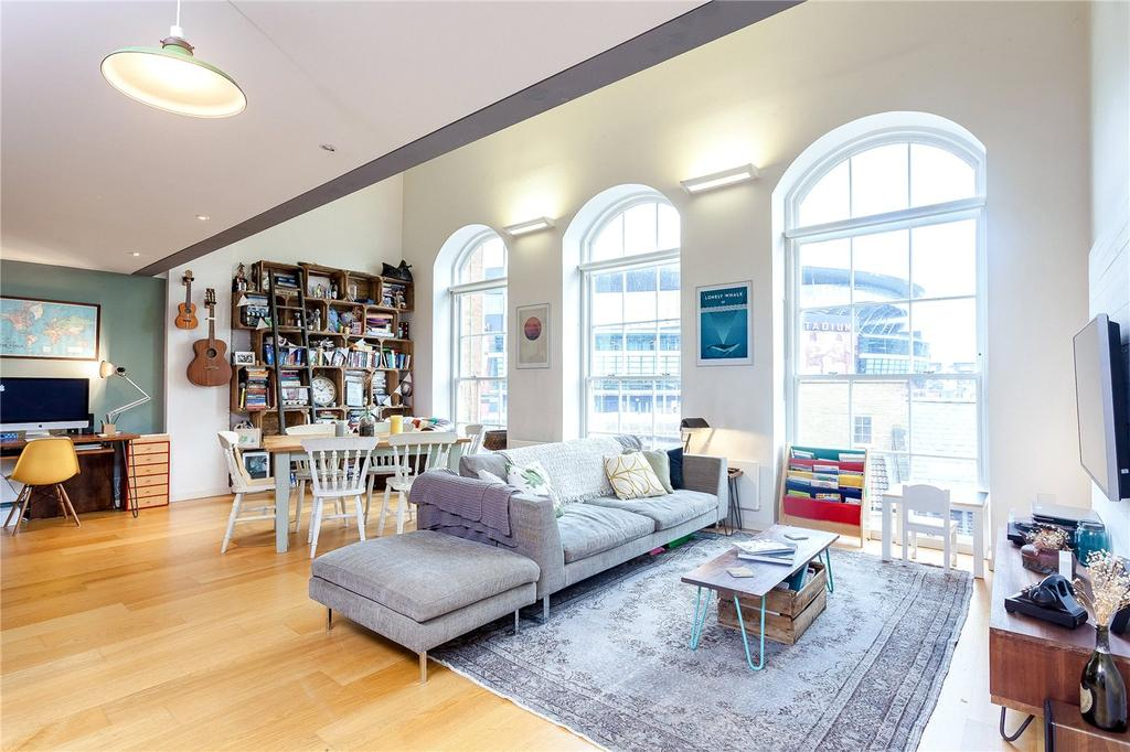 2 Bedrooms Flat for sale in Block A, 36 Hornsey Road, London, N7